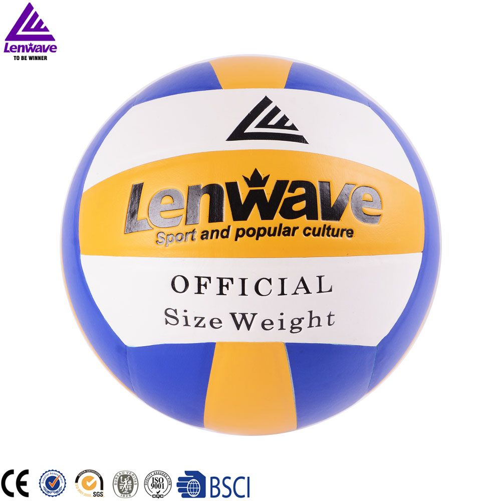 Free Shipping 2016 New Lenwave Brand Volleyball Official Size 5 Indoor Sports Training Pvc Volleyball Balls Sports Volleyball Indoor Sports
