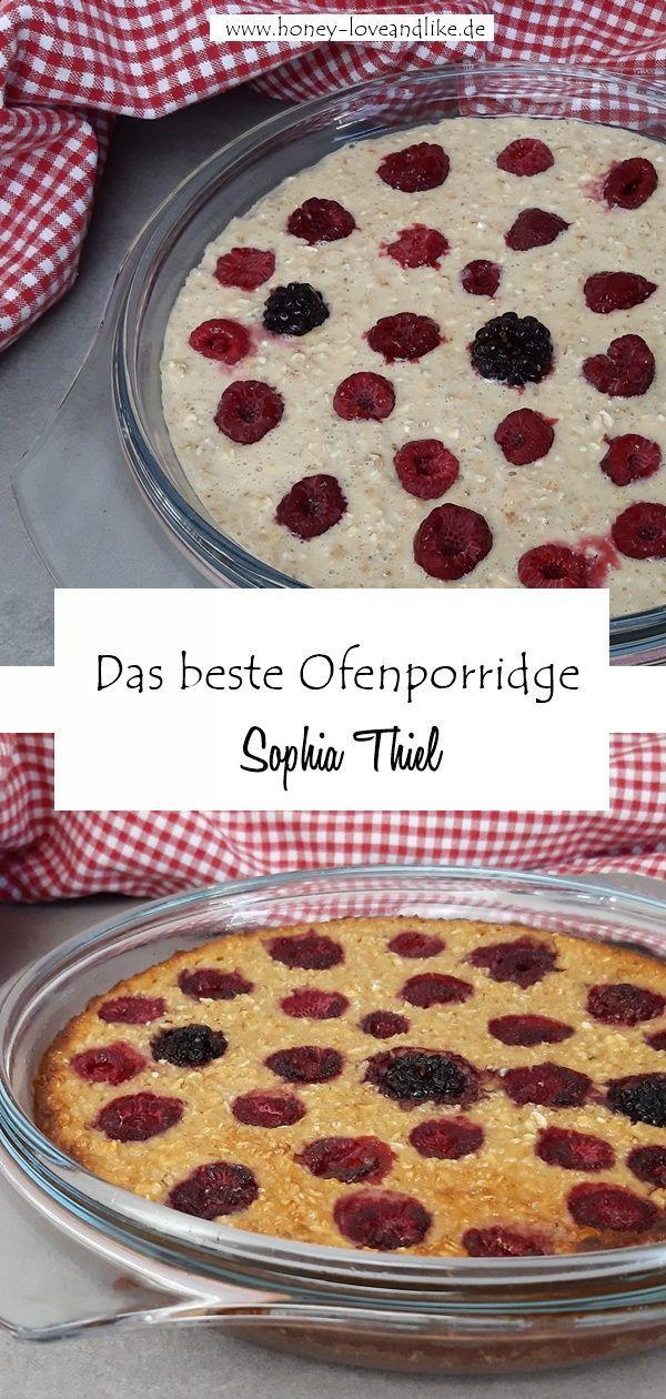 Ofenporridge von Sophia Thiel