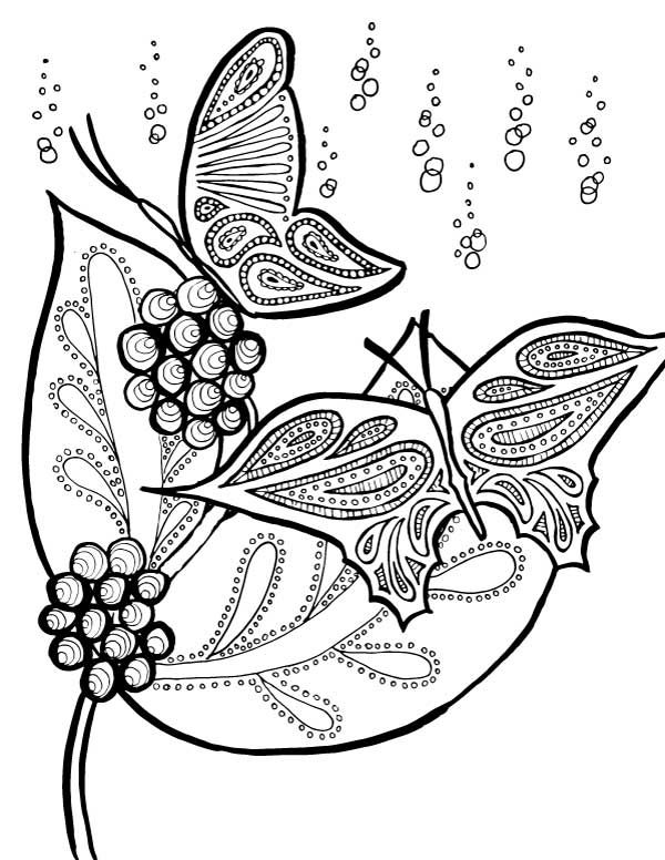 This Beautiful Butterfly Coloring Page Is Relaxing To Color Butterfly Coloring Page Coloring Pages Summer Coloring Pages