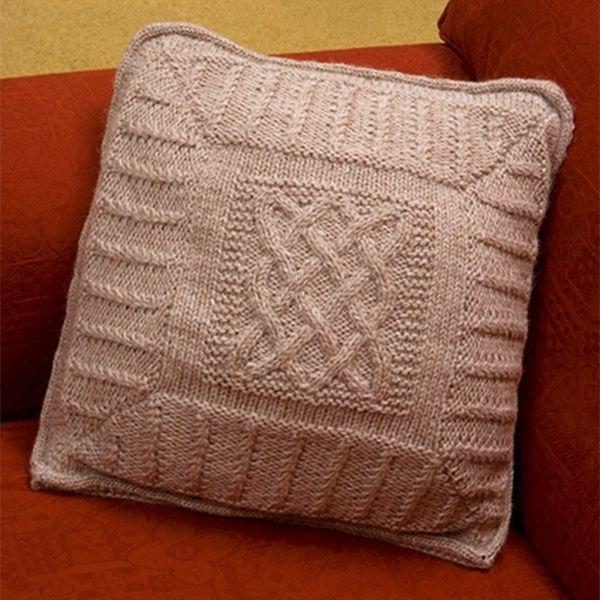 Comfort Cushion 2, Free Pattern | Free aran knitting ...