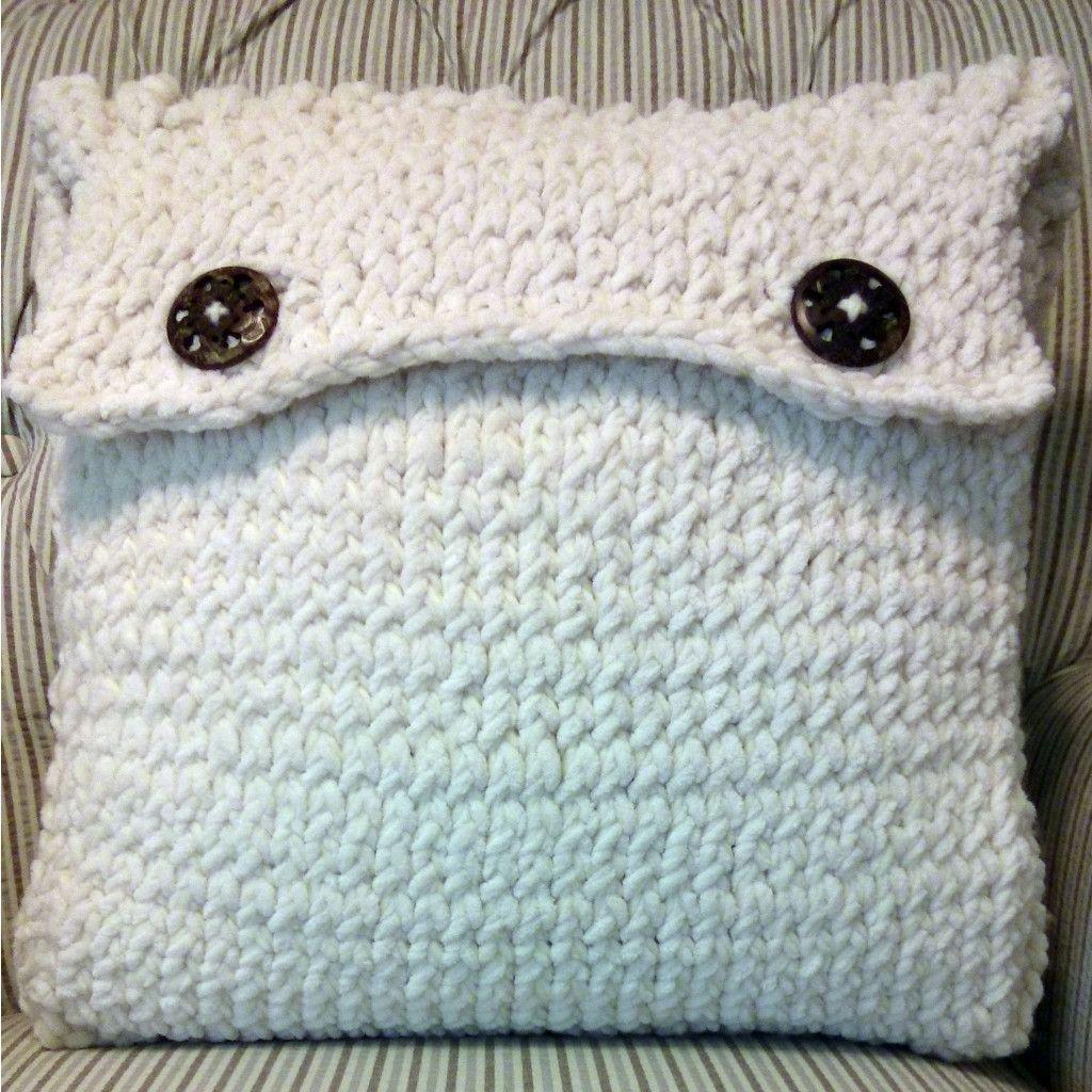 Make It: Fisherman\'s Rib Cushion - Free Knitting Pattern & Tutorial ...