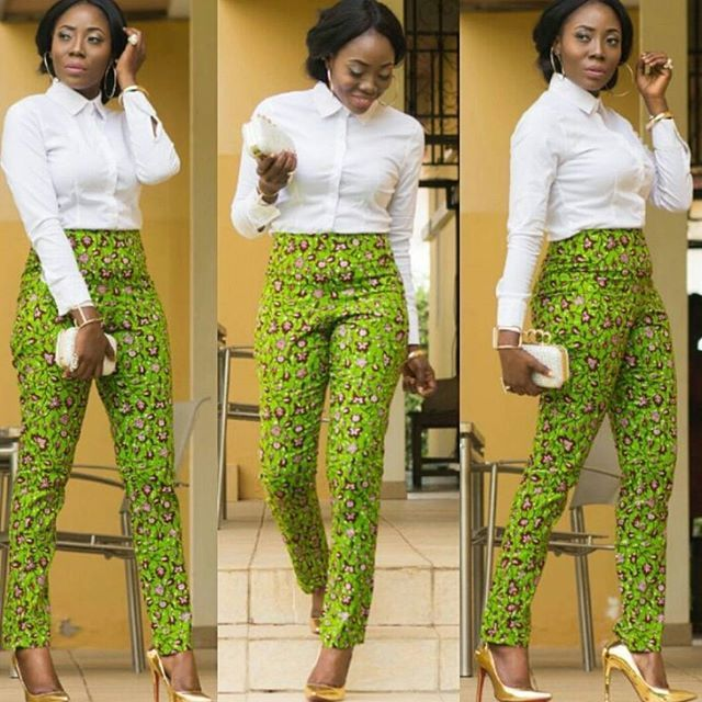 Ankara on point. @karenkashkane #africanfashion #fashion #style #fblogger #styleblogger #instafashion #instastyle #ankara #ootd #yaasomuah