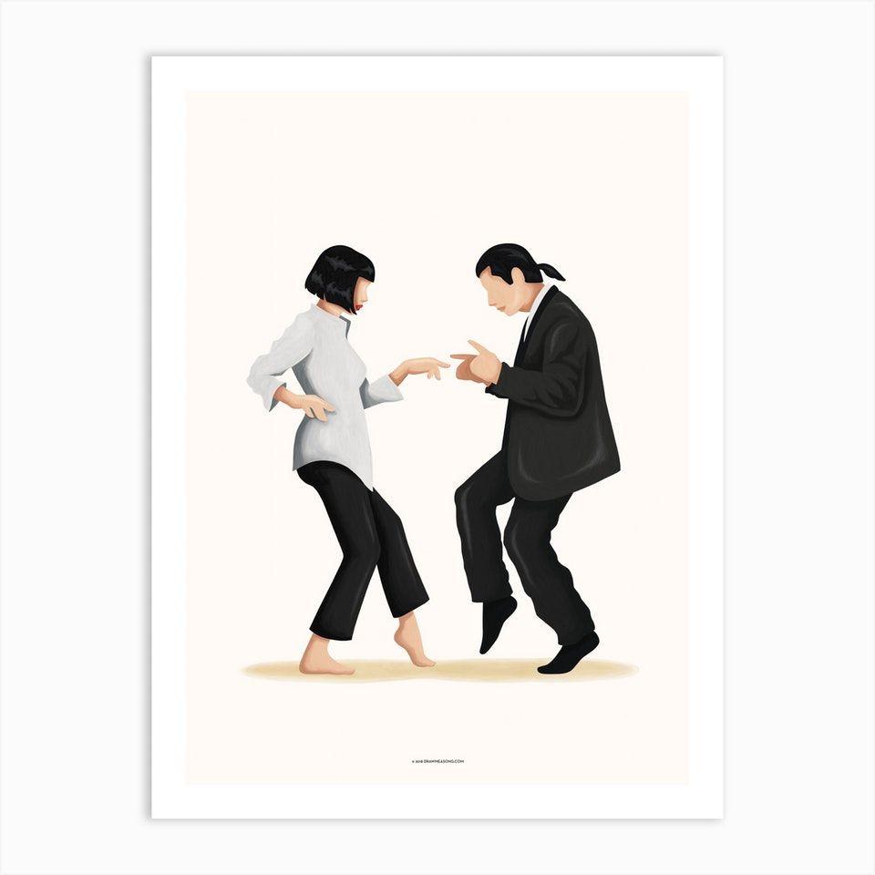 Pulp Fiction Art Print By Nour Tohme Fy Pulp Fiction Pulp Fiction Art Art Prints
