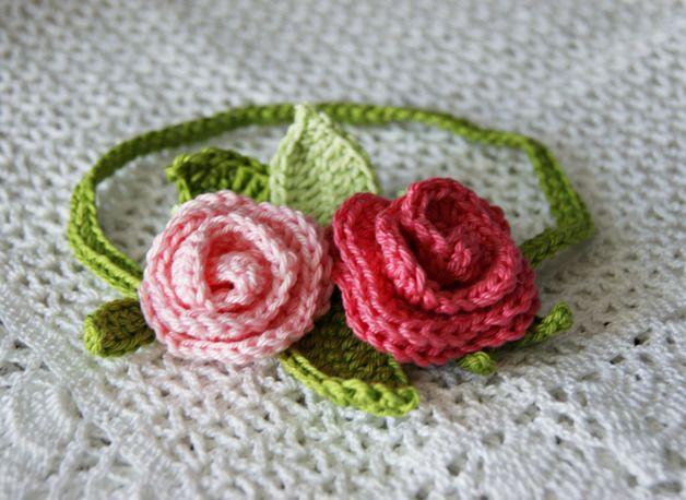 Blumenmädchen Haarband | Blumenmädchen, Band und Blumen