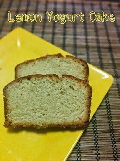Whole Wheat Lemon Yogurt Cake Eggless Healthy Baking Pinterest