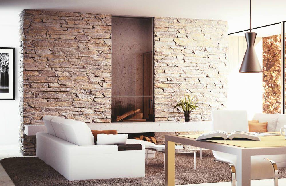 poser des pierres de parement ambiance d int rieur samira pinterest. Black Bedroom Furniture Sets. Home Design Ideas
