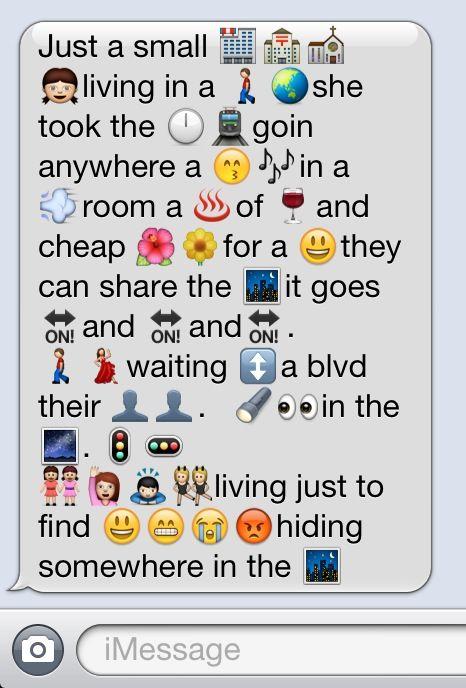 Emoji Don T Stop Believing Funny Emoji Texts Emoji Texts Funny Texts