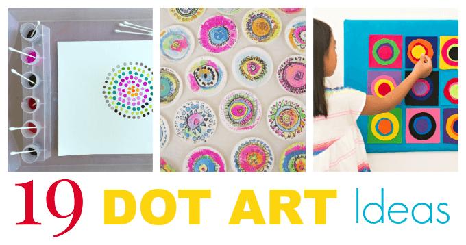 Photo of 19 Dot Art Ideas for Kids #dotdayartprojects 19 Dot Art Ideas for Kids to Try wi…
