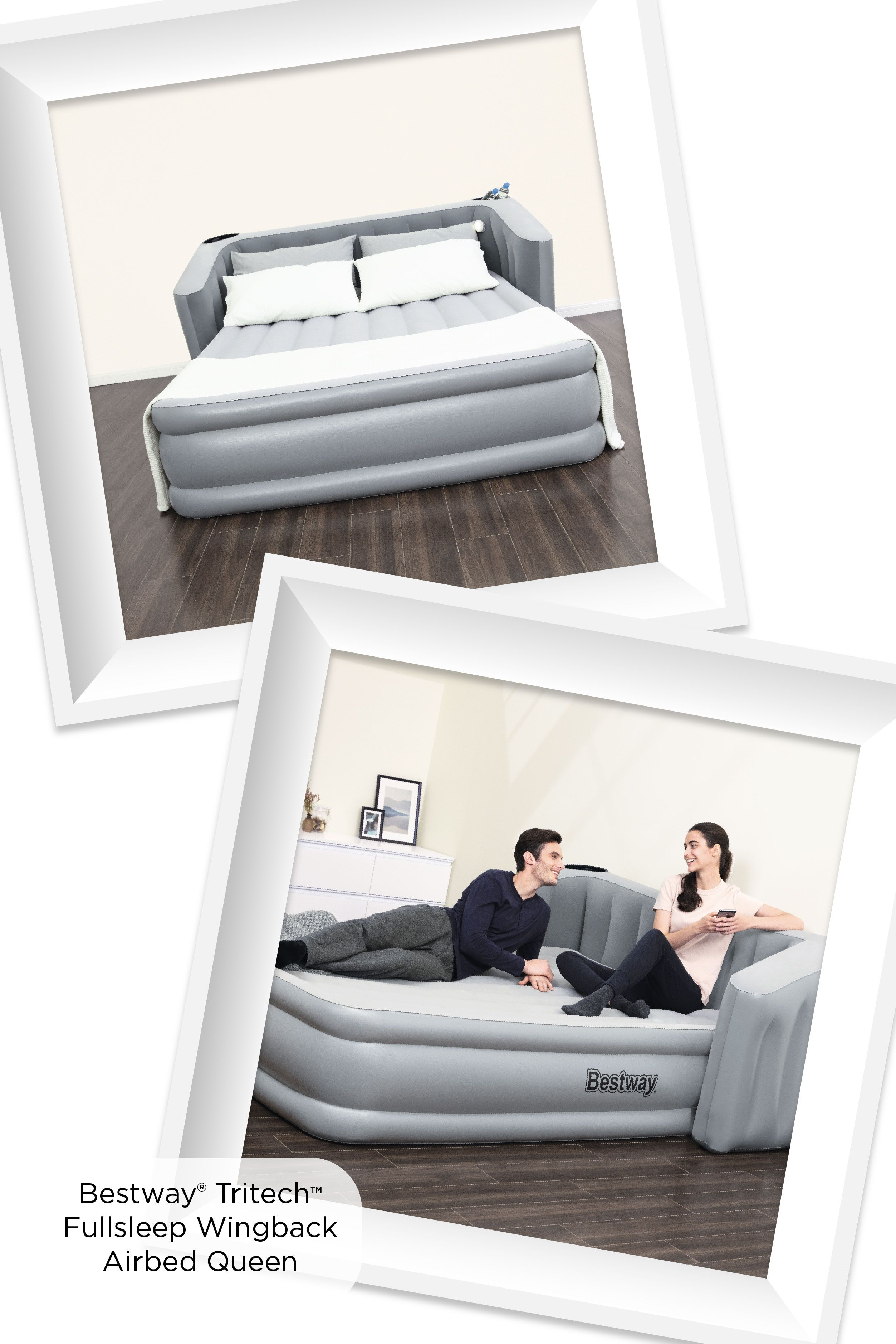 Bestway FullSleep Wingback Tritech 31 Inch Airbed with