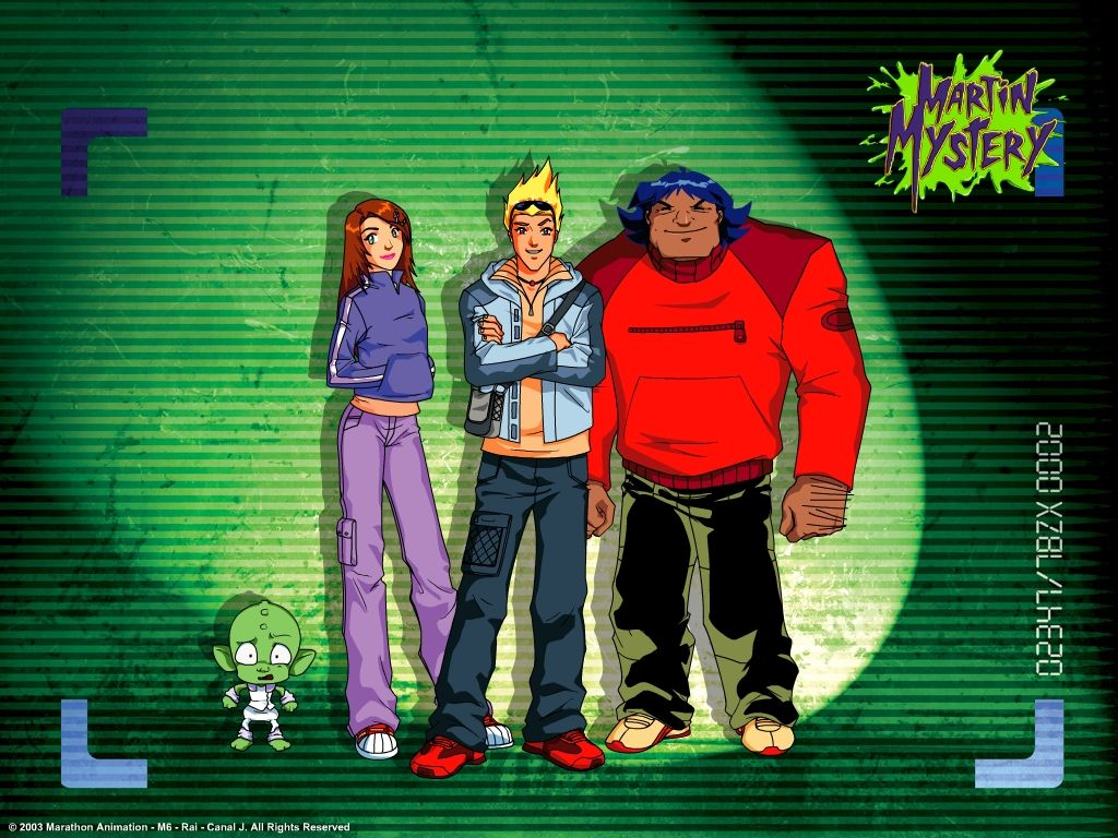 Martin Mystery Martin Mystery Movies And Tv Shows Nickelodeon