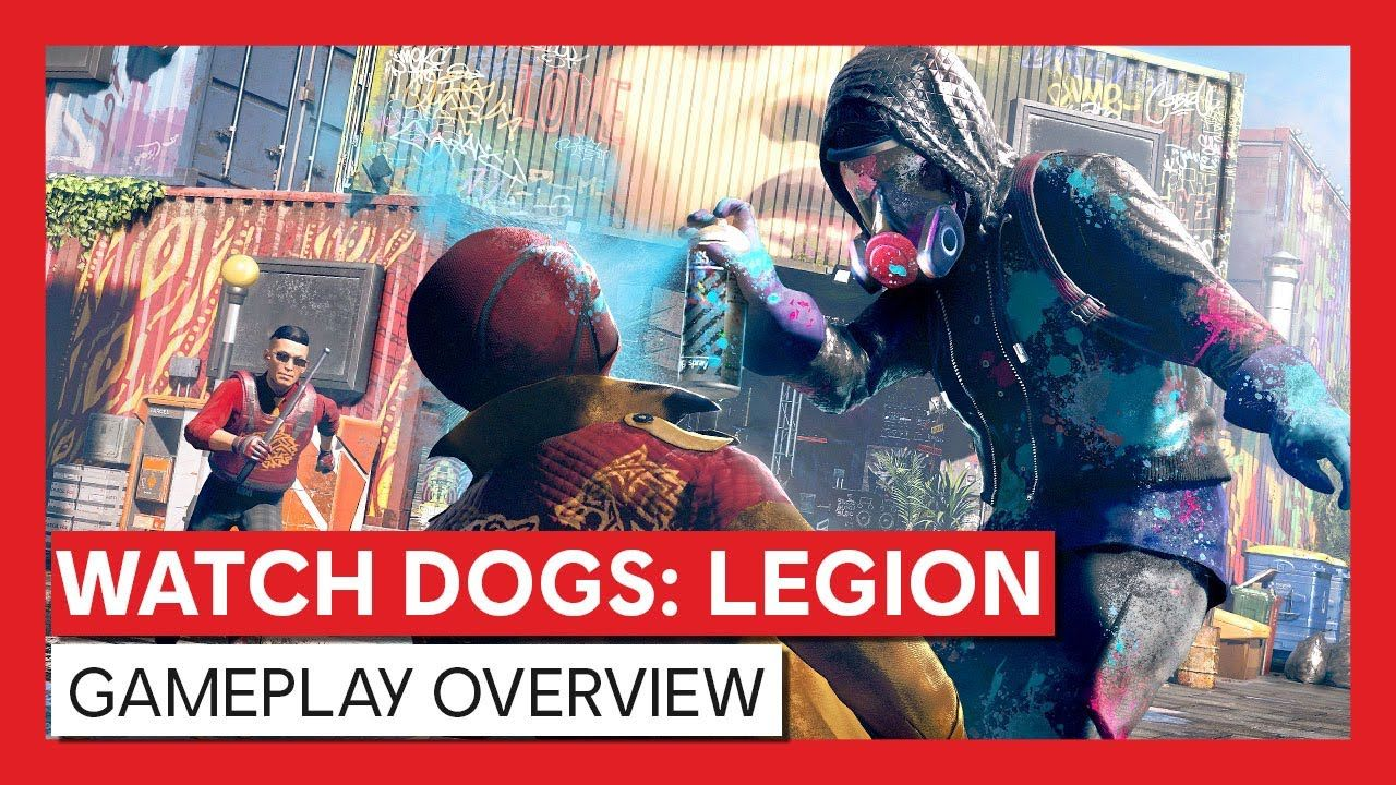 Watch Dogs Legion Gameplay Overview Trailer in 2020