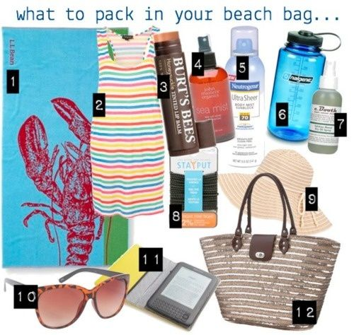 pack beach bag | What to pack in your beach bag! | Health & Beauty