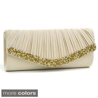 Silver Clutches & Evening Bags - Overstock™ Shopping - The Best ...