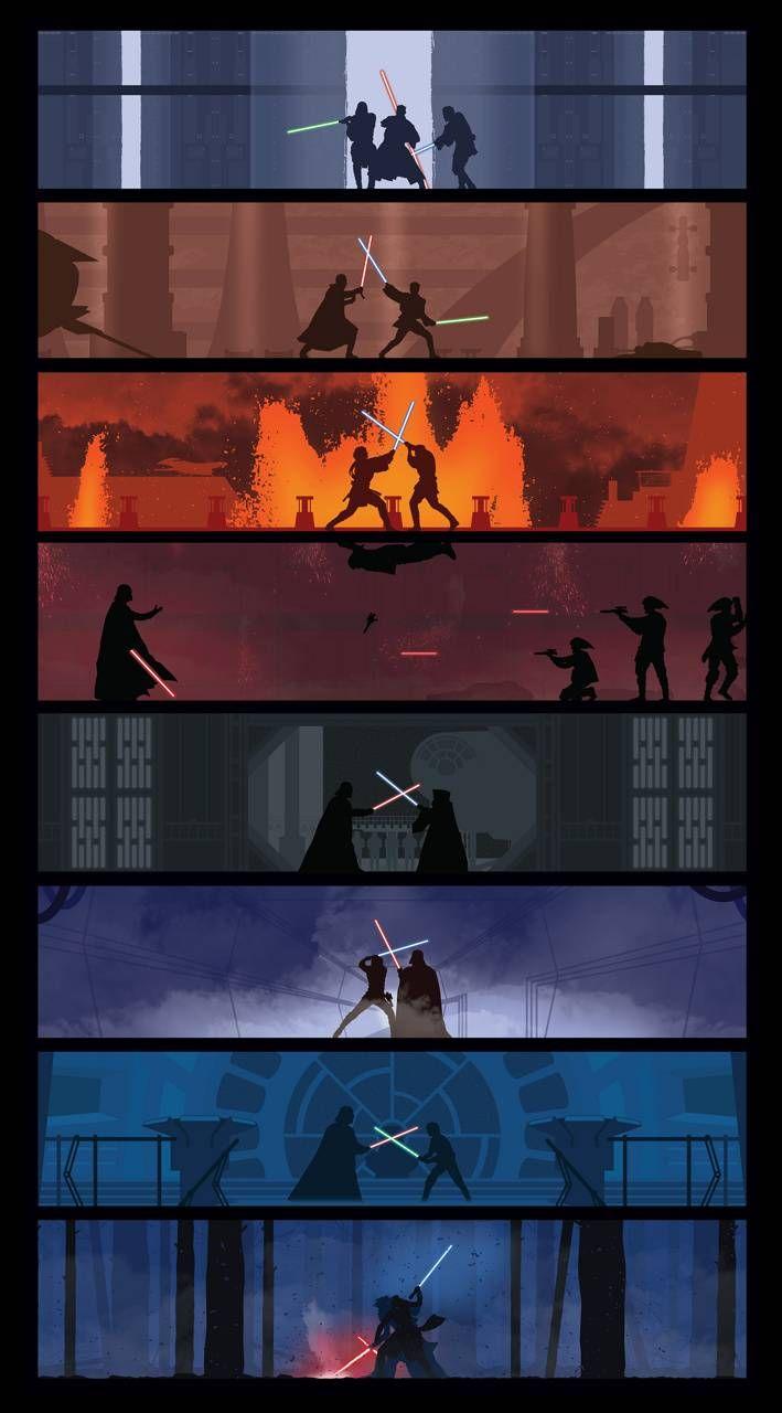 Star wars 1-7 wallpaper by Snakeboss88 - 5b - Free on ZEDGE™