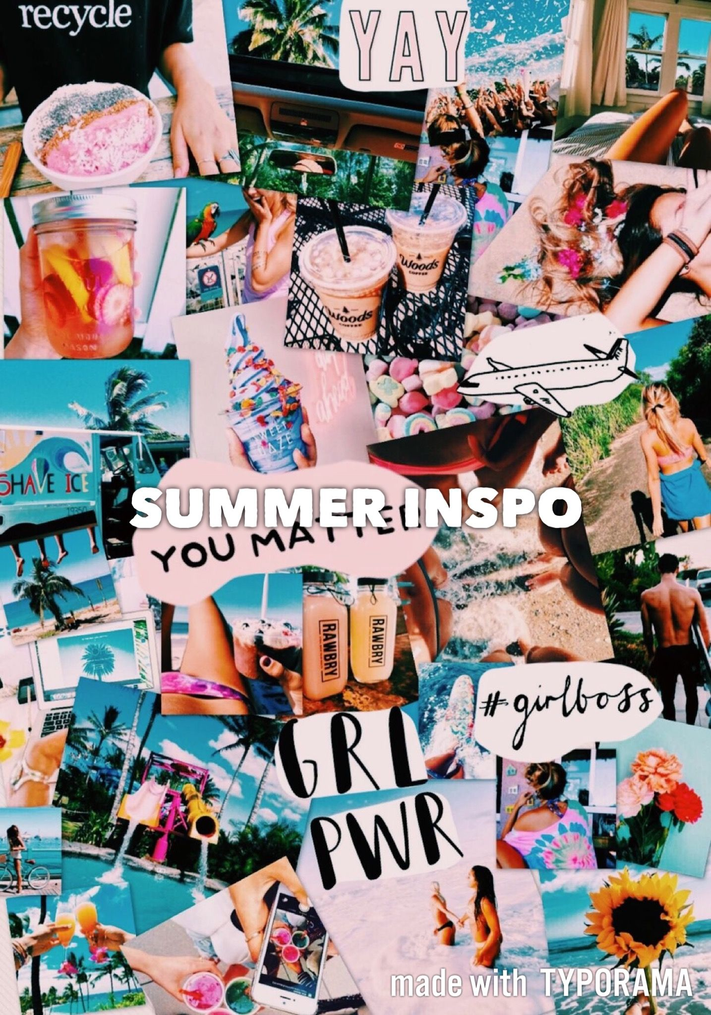 Pin by J💛SSLYN on collage. in 2019 | Collage background, Tumblr wallpaper, Aesthetic wallpapers