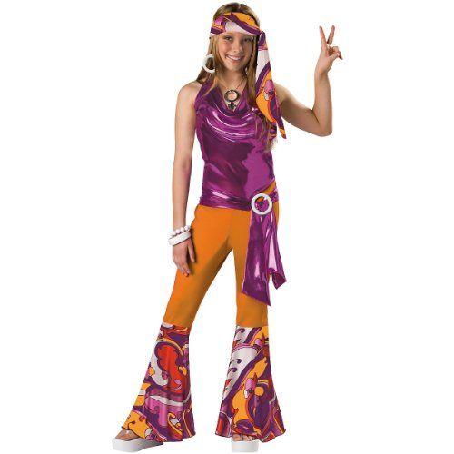 Incharacter costumes tween kids dancing queen costume orange purple large best halloween  dresses usa also rh pinterest