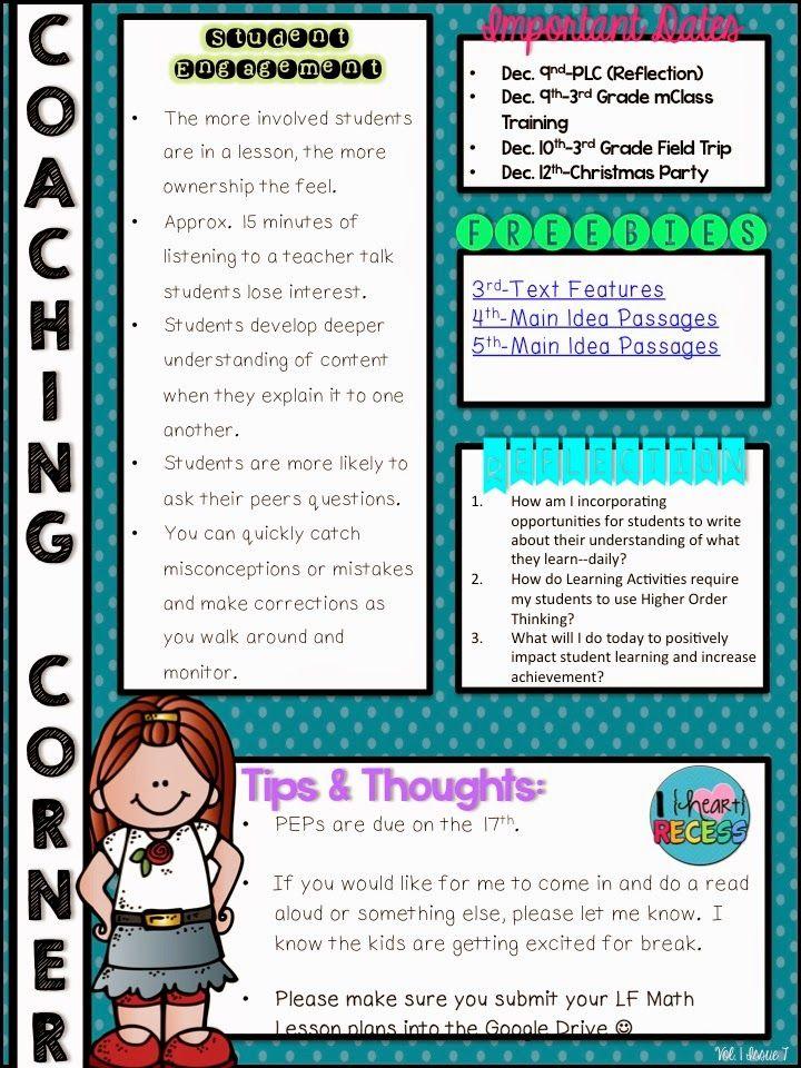What Is An Instructional Coach Instructional Coaching Pinterest