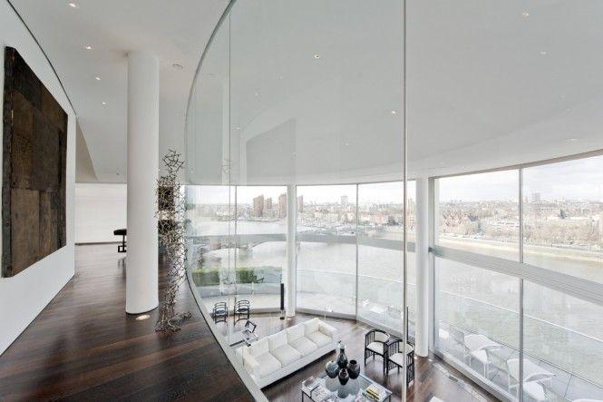 Spectacular Riverside Penthouse In London Luxury Penthouse Open