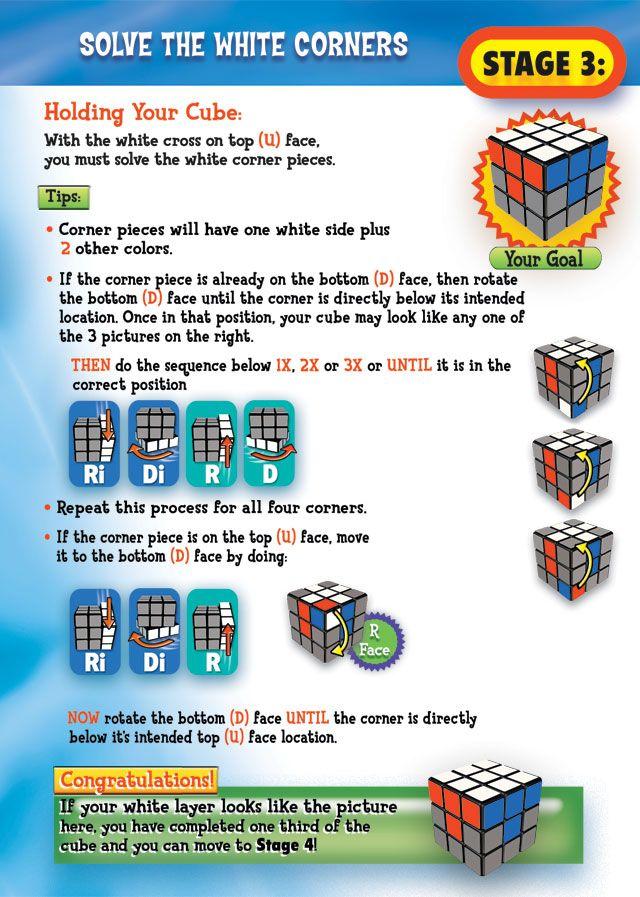 Solving a 3*3 Rubik's cube | rubix | Rubics cube solution, Rubik's