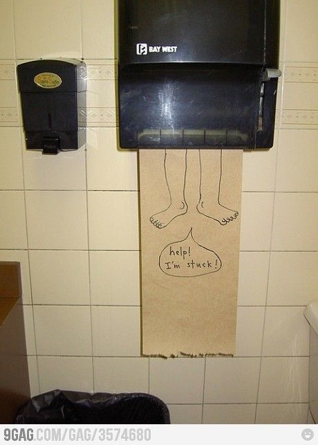 Bathroom humor!