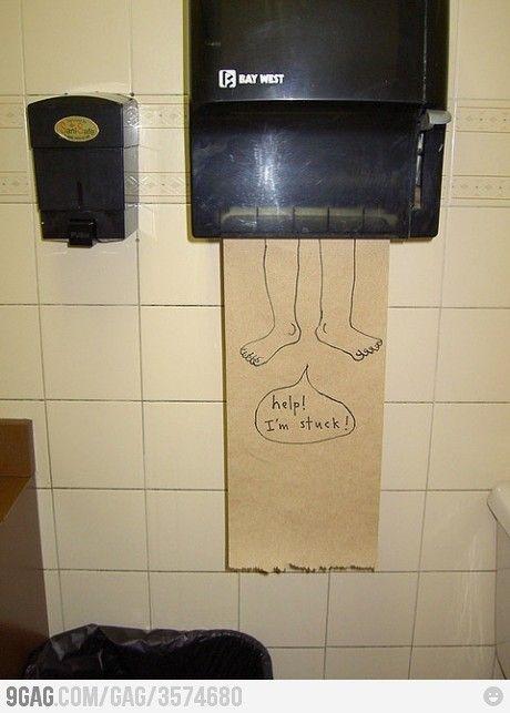 Bathroom humor!