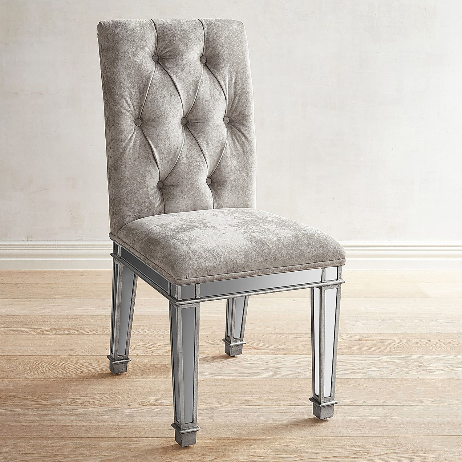 Hayworth Mirrored Dining Chair Pier 1 Imports Dining Chairs Furniture Office Waiting Room Chairs