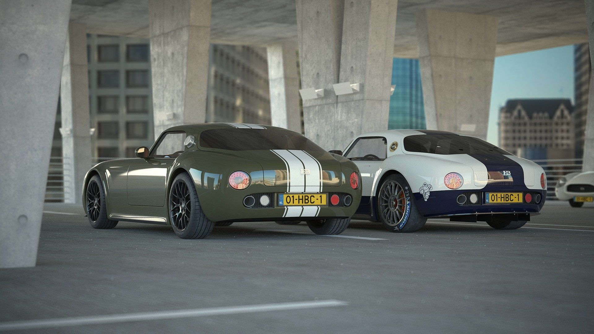 Pin op HB Coupe road racer