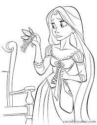 Rapunzel Boyama Sayfasi Ile Ilgili Gorsel Sonucu Boyama Sayfalari Rapunzel Cizim