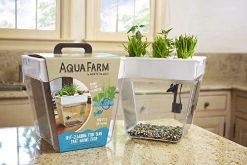Aquarium Water Garden Self Cleaning Fish Tank Plant Grower