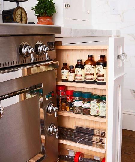 Cocinas Pequeñas Cajones Inteligentesdecoración Cocinas Pequeñas Pequeño Almacén De Cocina Almacenamiento En La Cocina