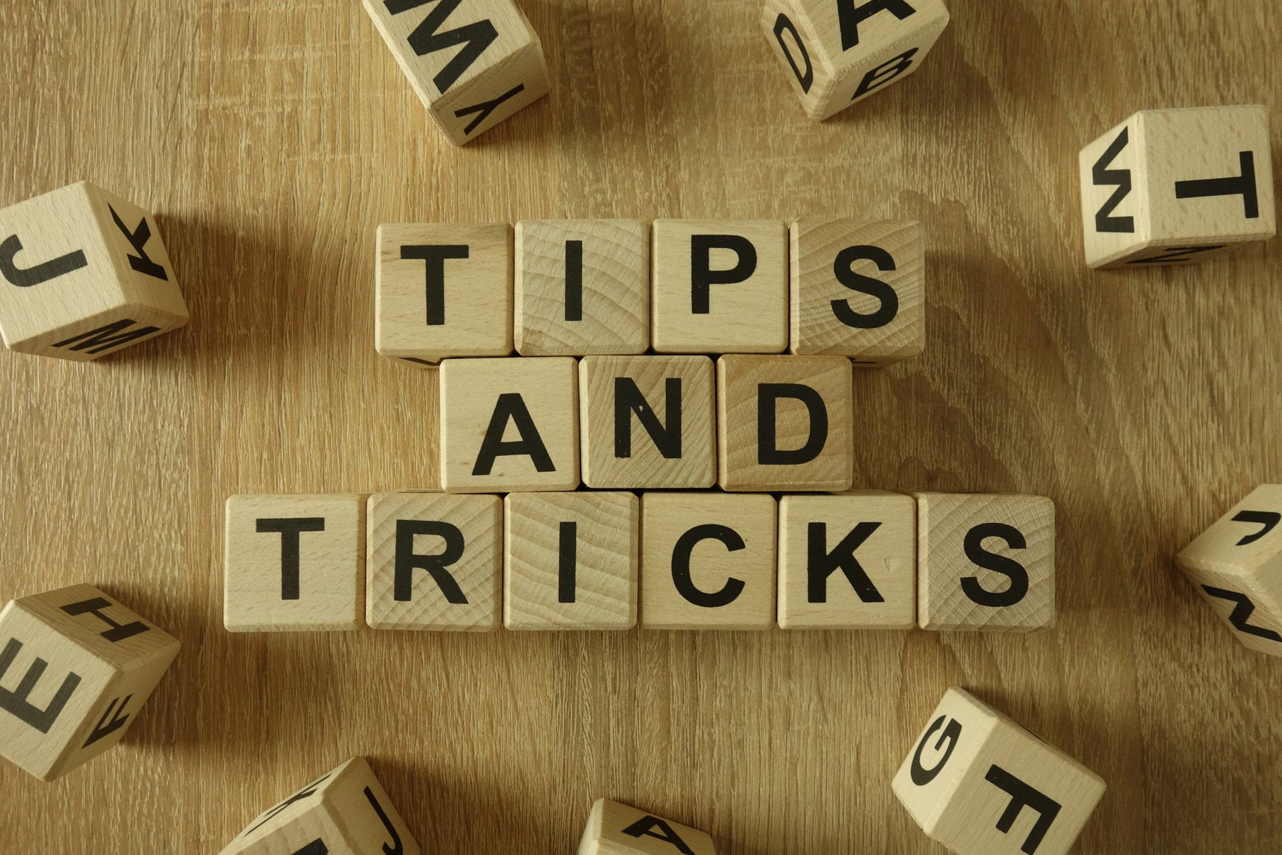 Letter of Tips and Tricks Letter of