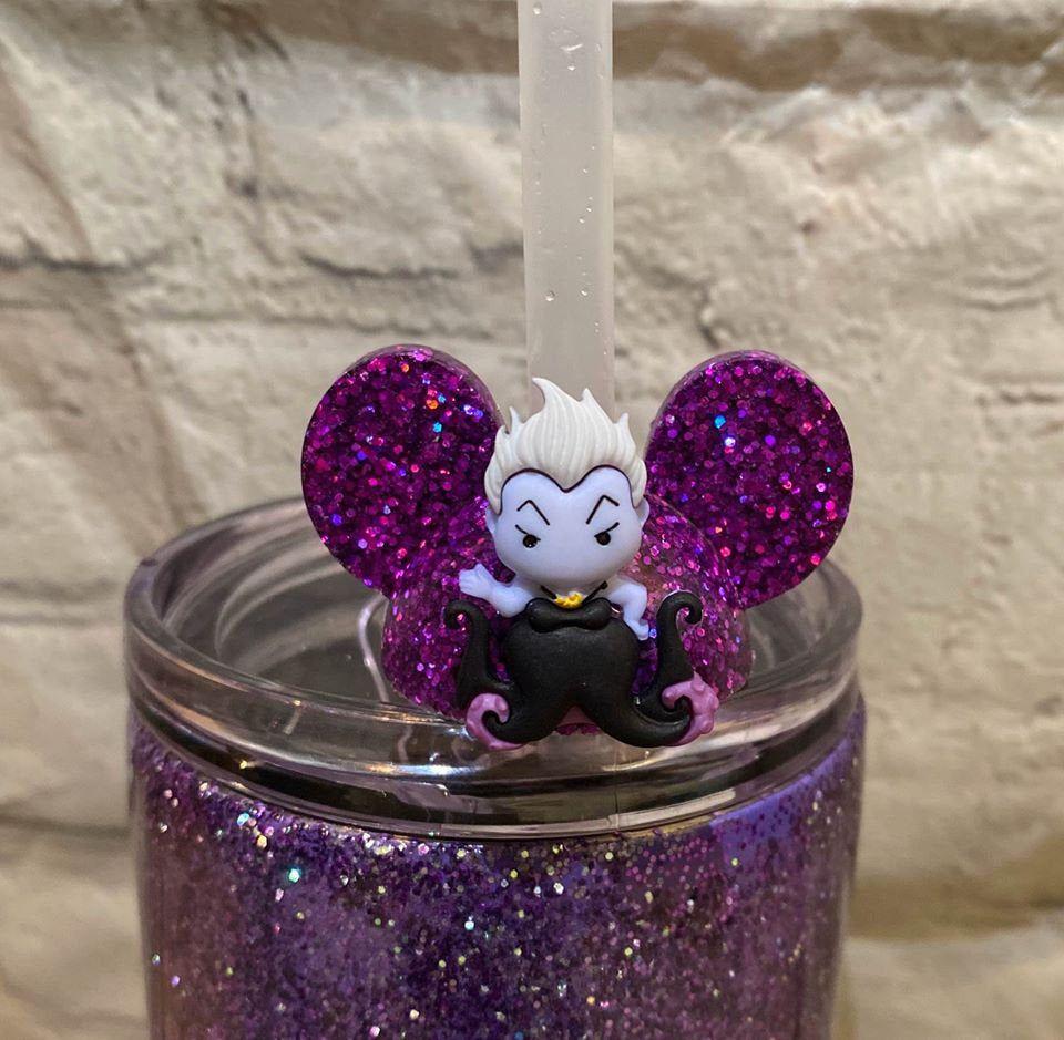 Disney inspired straw Topper