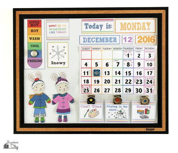Children S Calendar Activity Cards Pocket Chart Calendar Cards
