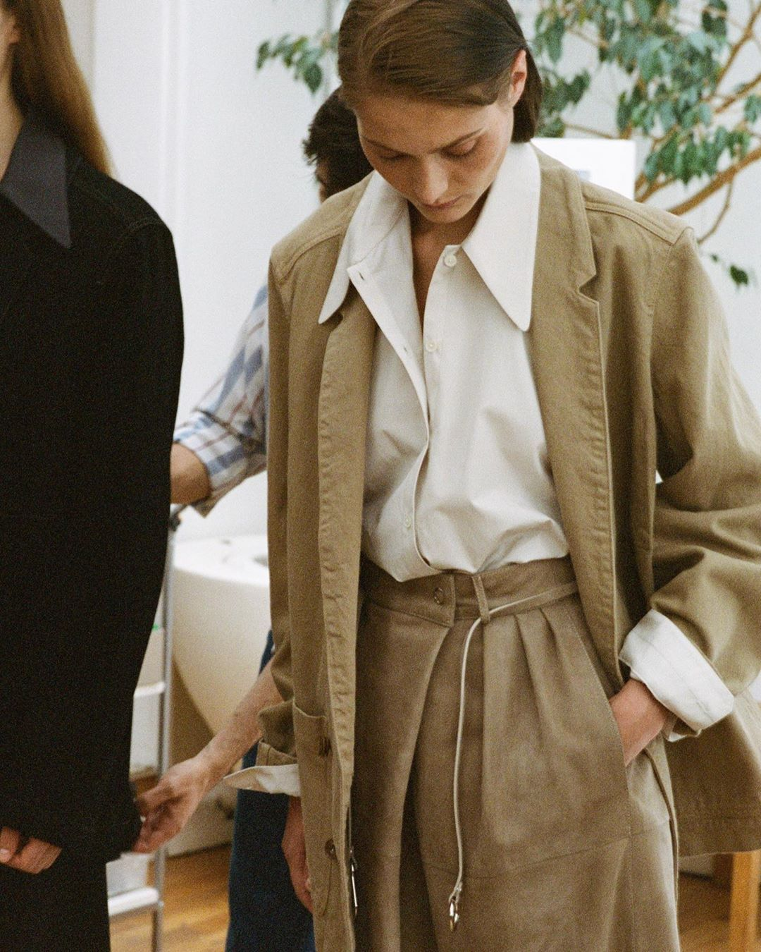 """Lemaire on Instagram: """"Pre-Spring 2020 fittings at rue du Temple. #lemaire"""" from pinterest 1/17/2020"""