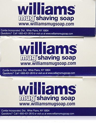Williams Mug Shaving Soap, 1.75 Oz (Pack of 3) | Your #1 Source for Beauty Products