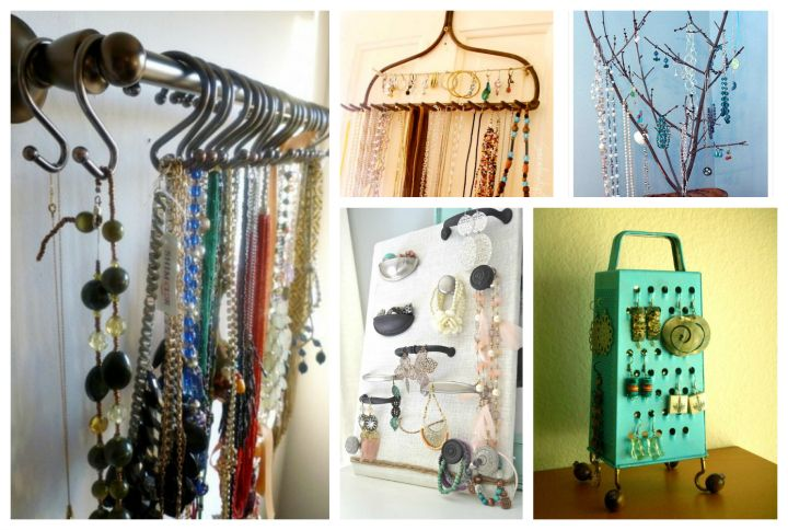 13 DIY Jewelry Organizers Youll Be Proud To Display DIY Crafts