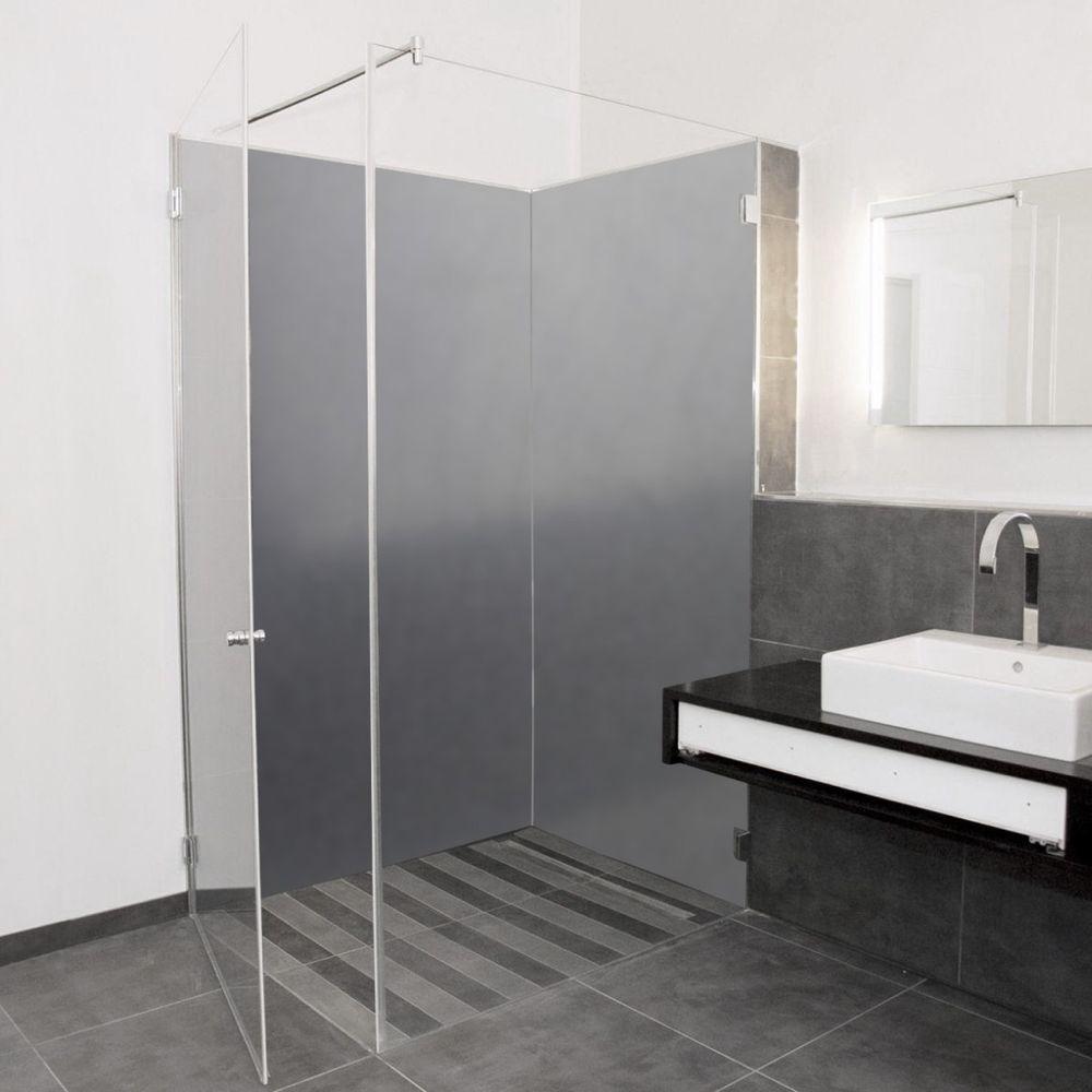 Duschruckwand Kunststoffplatten Wandverkleidung Fliesenspiegel Pflegeleicht Set Duschruckwand Kunststoffplatten Fliesenspiegel