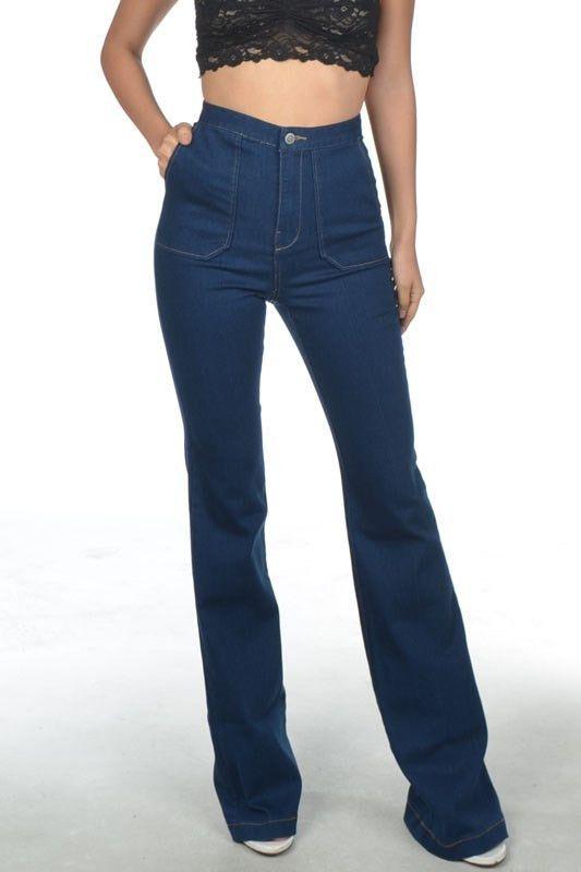 Cindy BellBottom Jeans