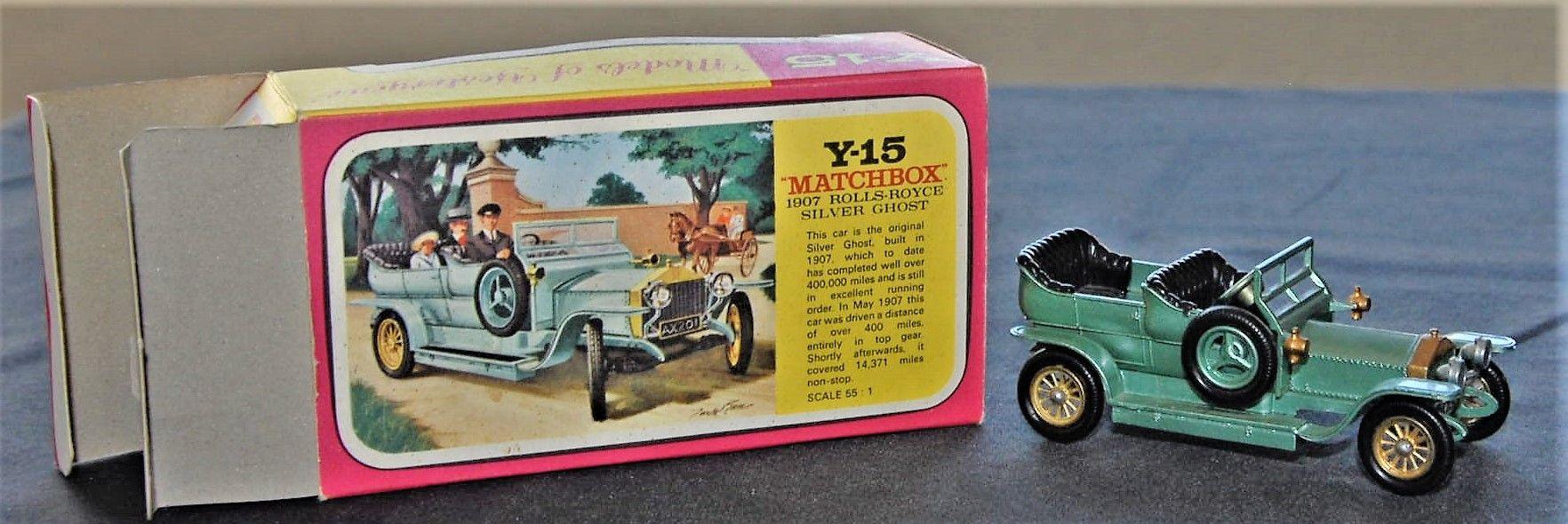 Pin de Rod South en Matchbox Models of Yesteryear | Toys