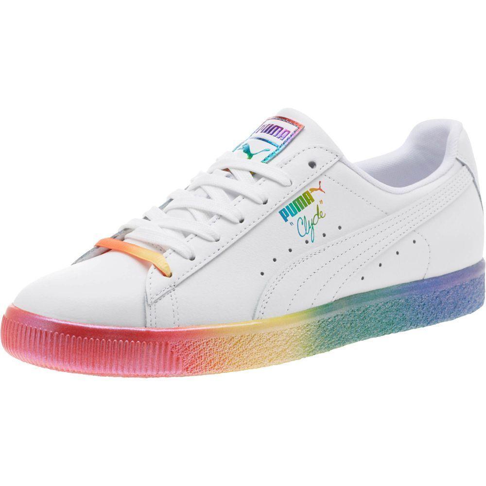 e02bc55b124 PUMA Clyde Pride Sneakers