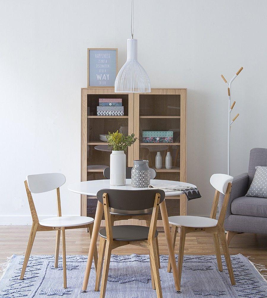 Slow mesa de comedor cocina redonda sillas pinterest mesas de comedor comedores y mesas Mesas para cocina comedor