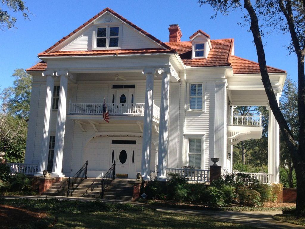 Classic revival house in defuniak springs florida built