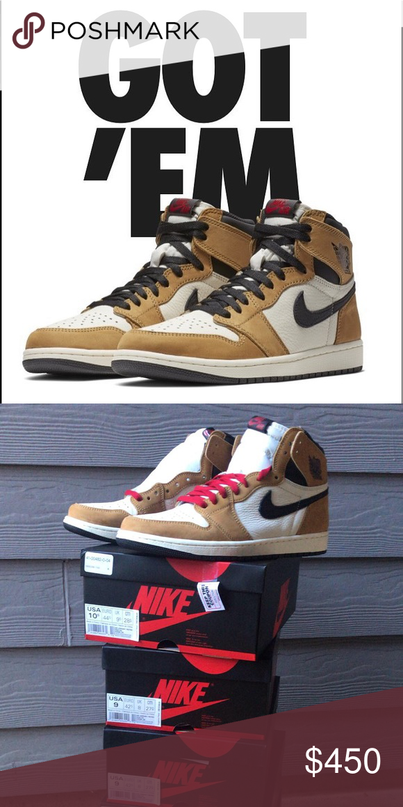 ce06e33f18e1 Jordan 1 Rookie of The Year Nike Air Jordan 1 Rookie of the year. Sold out.  4 pairs in hand. 2 size 9 and 2 size 11s. OG receipt and box.