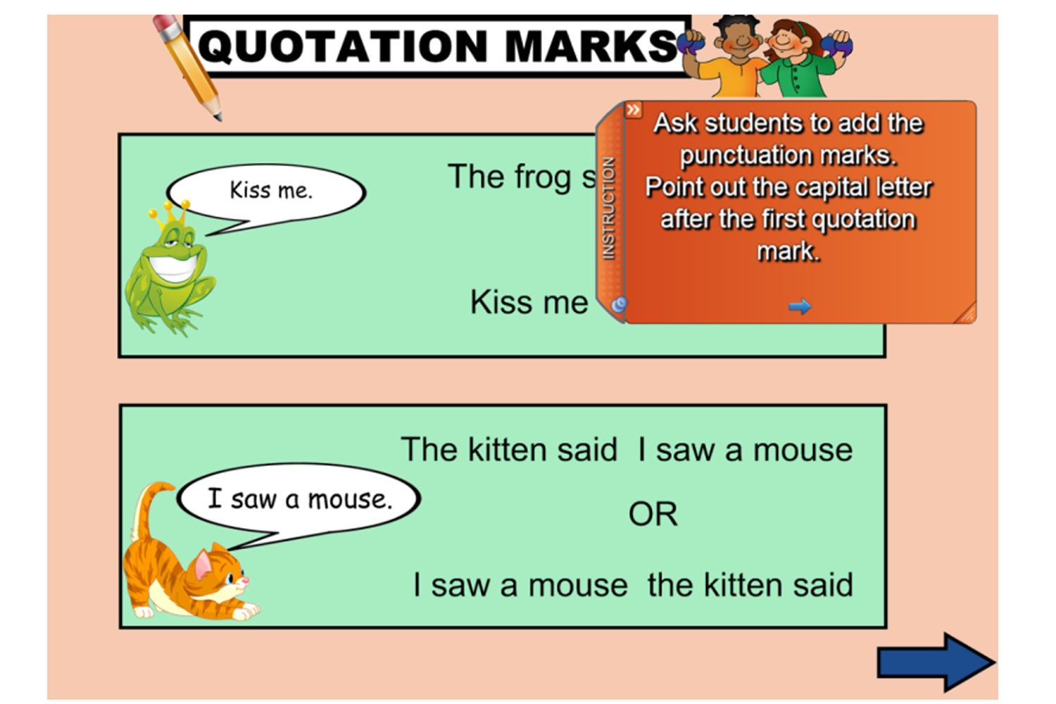 Have Some Fun With Quotation Marks This Introductory Iwb