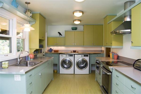 7 Smart Multi-Function Kitchen Layouts - Problem Many extra steps