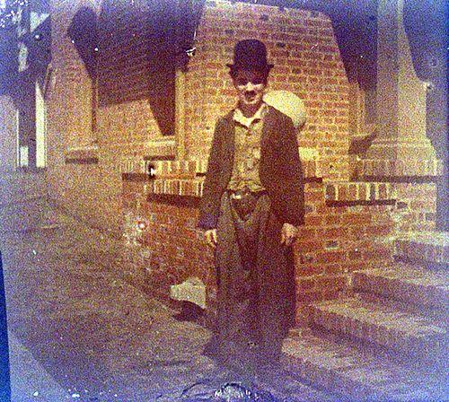 Chaplin in color