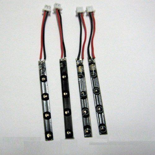 Sceek.com presents: Wltoys Part V929 V949 V959 V969 V979 V989 V999 Quadcopter LED Light Strips Kits 4PCS