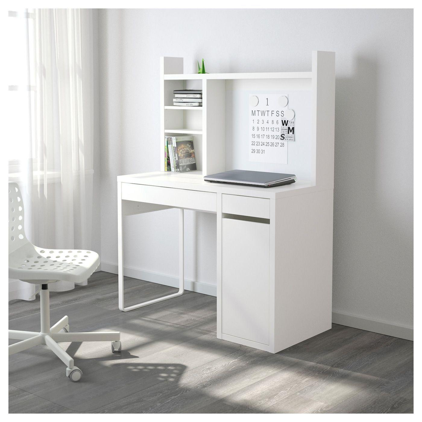 Pc Gaming Setup Discover MICKE Desk white 41 3/8x19 5/8