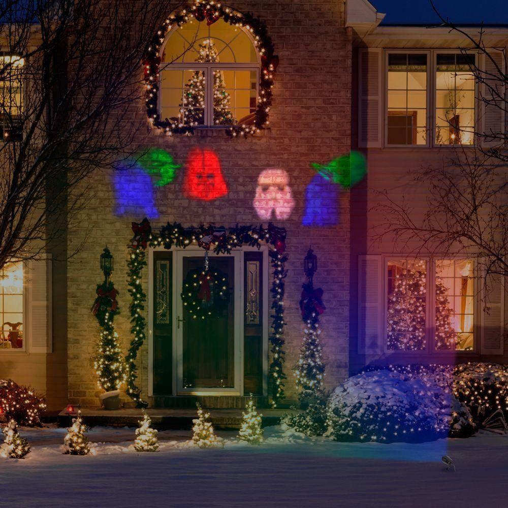 Disney Discovery Star Wars Holiday Spotlight Projector Star