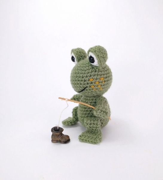 Ferdinand The Frog Amigurumi Pattern | Patrones amigurumi ...